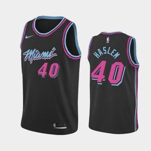 Miami Heat #40 Udonis Haslem City Jersey